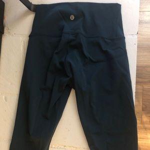 Teal size 2 women's lululemon leggings